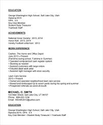 Examples Of High School Resumes New Examples Of High School Resumes 28 Ifest