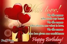 Love Birthday Quotes Delectable Love Quotes For Her On Her Birthday Packed With Happy Birthday