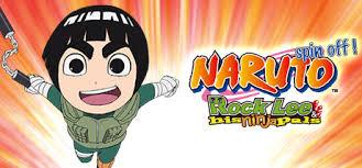 Naruto Sensei Chart Naruto Spin Off Rock Lee His Ninja Pals Guy Sensei Didn