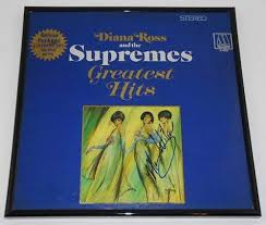 The supremes still hold the record for most no.1 singles for an american group: The Supremes Greatest Hits Mary Wilson Signed Autographed Lp Record Album With Vinyl Framed Loa At Amazon S Entertainment Collectibles Store