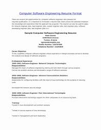 Computer Engineer Resumes Elegant Computer Engineering Resume Objective Examples