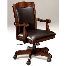 catchy wood office chairs with simple desk chair wood leather office