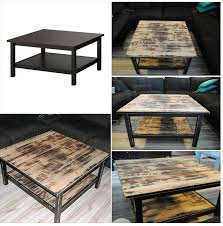 ikea industrial furniture. My Own Furniture Makeover. A Coffetable From Ikea, Hemnes, Got New Industrial Ikea C