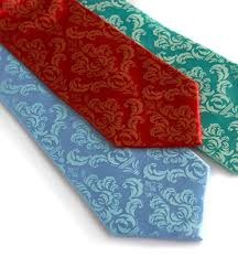 Damask Tie Cyberoptix Damask Tie Red Rust Delicious Boutique