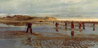 Digging for Bait', Charles William Wyllie, 1877 | Tate