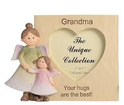 adoring angel frame grandma