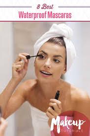 8 best waterproof mascara tutorials to bat allergy season with makeup