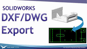 Convert Dwg To Dxf Solidworks Dxf Dwg Export Youtube