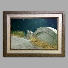 modern art framing. Picture Framing Example - Robert Bateman Modern Art