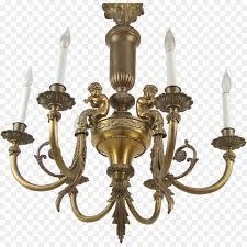 chandelier lighting brass light fixture antique brass