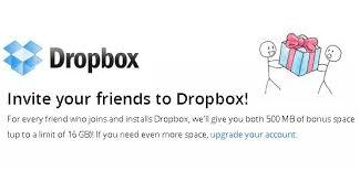 Free 18gb Dropbox Account Now Possible Through Referrals Geek Com