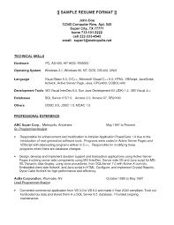 Sample Computer Programmer Resume Resume Computer Programmer Resume Templatesamples Template