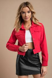 the fifth label the fifth label upland red jacket