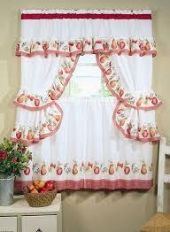 red striped kitchen curtains design striped kitchen curtains home design ideas and