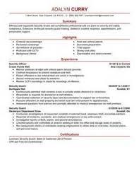resume security guard security guard resume objective security objectives for resume