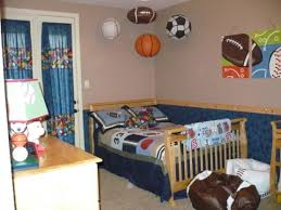 Charming Sports Bedroom