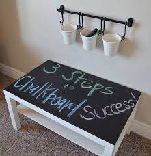 Interactive Coffee Table How To Use Chalkboard Paint To Make A Table Stand Out