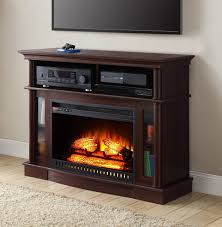 mainstays media fireplace for tvs country style electric stone veneer ideas decor flame gel fuel insert