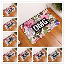 carpet letters. 2017 new arrival creative rugs washable color letters carpet mats bedroom non-slip floor e