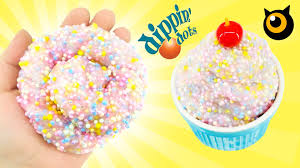 how to make dippin dots ice cream slime diy kidsmon