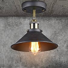 CLAXY Ecopower Industrial Mini Edison Ceiling Light 1 Light