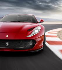 ferrari 812. are the most efficient ever developed by ferrari. combined with hi-performance abs of 9.1 premium esp, braking performance from 100 km/h is ferrari 812