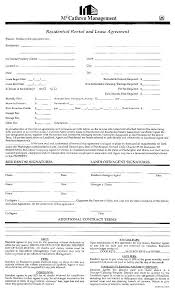 Blank House Rental Agreement Tenancy Template Printable – Rightarrow ...