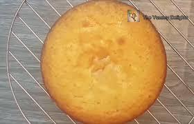 Eggless Vanilla Sponge Cake In Oven How To Make Eggless Vanilla