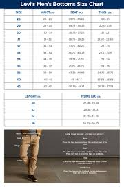 Levis 501 Mens Size Chart Mens Pants Size Chart Levis Best Picture Of Chart Anyimage Org