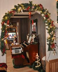 Lovely Decoration Christmas Archway 7 Entryway Dcor Ideas inside Christmas Archway  Decoration