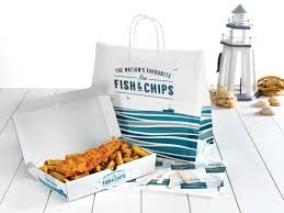 Fish And Chips Design Trawler Fish And Chip Packaging Fish Chip Shop Fish