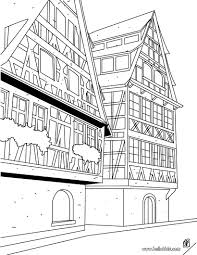 Small Picture Typical strasbourg house coloring pages Hellokidscom