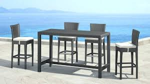patio patio tall table and chairs black kitchen for dining set four chair medium size