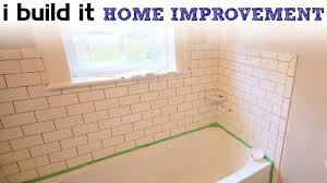 bathroom tile installation. Simple Installation Doing Ceramic Tile Around The Tub And Bathroom Installation E