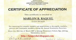 Examples Of Certificates Of Appreciation Wording Fascinating Certificate Of Made By Plaque Appreciation Sample Text Own