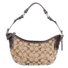 Coach Soho Signature Small Hobo Handbag