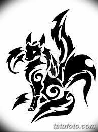черно белый эскиз тату с лисой 09032019 040 Tattoo Sketch