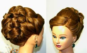 Prom Hair Style Up wedding prom hairstyle for long hair updo tutorial youtube 3197 by wearticles.com