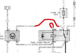 fuel pump relay woes pelican parts technical bbs Fuel Pump Relay Wiring Diagram so the pump was always powered with switched power from the ignition makes sense right? fuel pump relay wiring diagram 93 top kick
