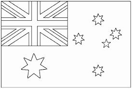 Drapeau Australie Coloriage De Drapeaux Coloriages Pour Enfants