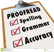 proof clipboard checklist spelling grammar accuracy checked boxes next to words as things editor reviews jpg essay movie glory