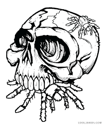 Best Skull And Crossbones Coloring Pages H9632 Harmonious Skull And