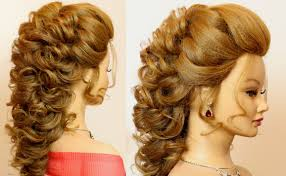 Bridal Prom Hairstyle For Long Hair Tutorial Step By Step Youtube
