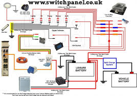wiring diagram how to wire up your camper it is recomended to run Mazda 5 Fuse Box Diagram at Mazda Bongo Fuse Box Layout