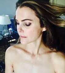 Keri Russell Keri Russells Golden Globes Beauty Prep Instylecom