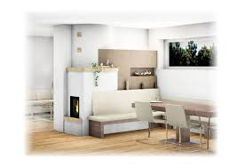 Anthrazitfarbene Fliesen Im Wohnzimmer Elegant