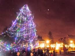 Birmingham Mi Christmas Tree Lighting Oh Christmas Tree Snapshots From Shain Park Tree Lighting