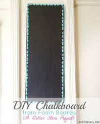 decorative chalkboards for various functions. DIY Chalkboard Tutorial Using Foam Boards Decorative Chalkboards For Various Functions T