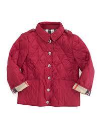 Burberry Mini-Pirmont Diamond Quilted Jacket, Fritillary Pink &  Adamdwight.com