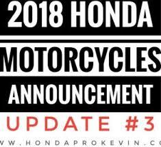 2018 honda 300. interesting honda new 2018 honda motorcycle models released  update 3 cbr sport bikes  touring and honda 300